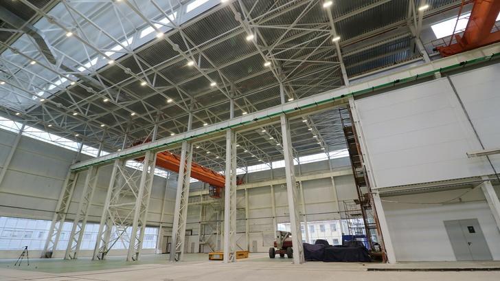 Мичуринский локомотиворемонтный завод в Тамбовской области запустил новый цех